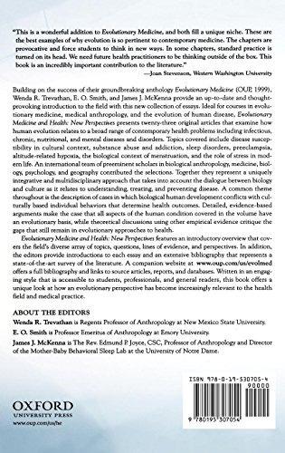 medicina evolutiva y salud: nuevas perspectivas