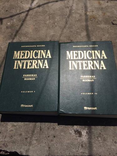 medicina interna farreras rozman 14 edicion
