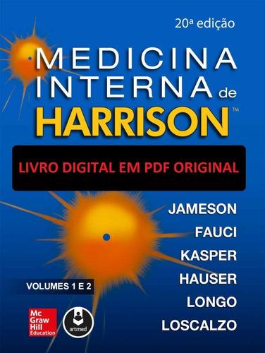 medicina interna harrison 20ªed (2020) 2 volumes (português)