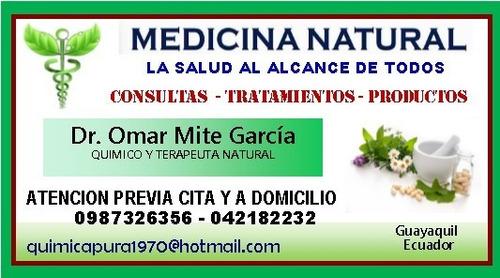 medicina natural. consultas - tratamientos - productos