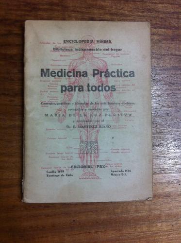 medicina practica para todos - dr. e. martiñez riaño