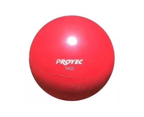 medicine ball 1 kg sin pique proyec pelota medicinal tone