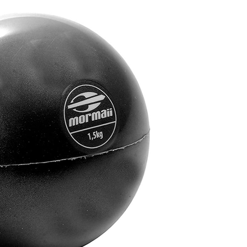 74ab3bd373b6a Medicine Ball 1,5kg Bola Tonning Fit Academia Mormaii 447000 - R  28 ...