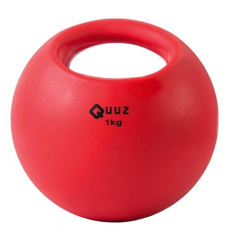 medicine ball pelota con peso de 1 kg sin pique con manija