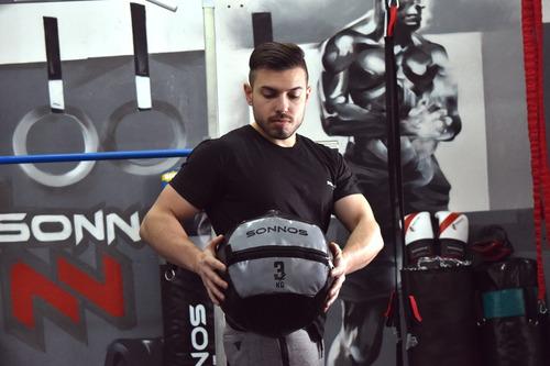 medicine ball simil dynamax 16 kg crossfit funcional sonnos