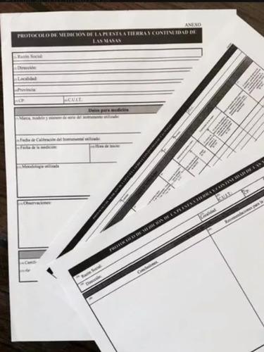 medicion de puesta a tierra resolucion srt 900/15
