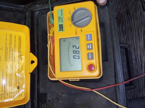 medicion de puesta a tierra, ruido , iluminacion , termograf