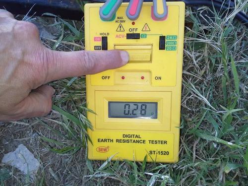 medición puesta tierra continuidad de masas protocolo 900/15