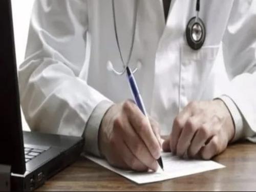 medico-certificado laboral y de trabajo recetas archivadas