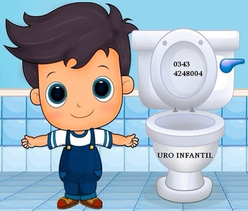 médico con consultorio de urología infantil - telemedicina