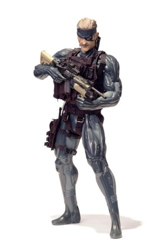 medicom toy metal gear 4 solid snake the old