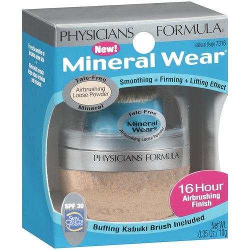 médicos mineral fórmula usar polvo suelto aerografía