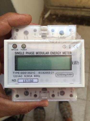 medidor 110 y 220 de kwh para paneles solares - lo pide cfe