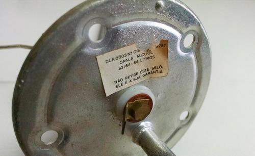 medidor combustível 84l opala alcool 83/84 - dcr 0003
