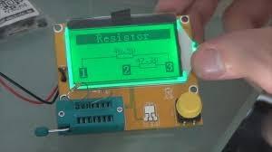medidor comprobador tester lcr-t4 mega328 transistor diodo