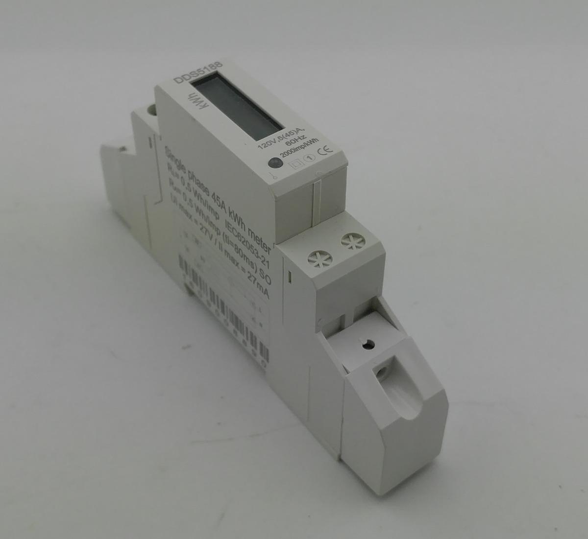 d1e1339334f medidor consumo de energia compacto 110v 127v 45a monofásico. Carregando  zoom.