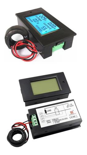medidor consumo electrico watimetro voltimetro amperimetro