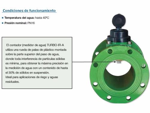medidor de agua potable riego pozo residual 2-20 pulgadas