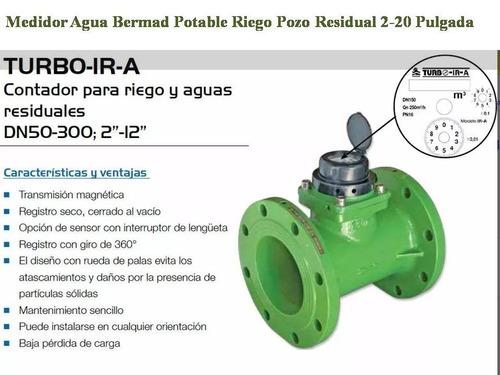 medidor de agua potable riego pozo residual precio negociabl