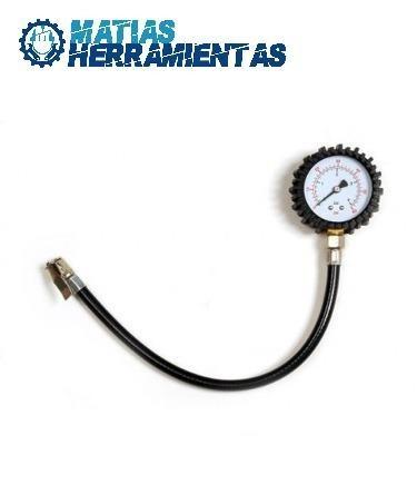 medidor de aire ruedas reloj neumaticos profesional 60psi b4