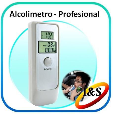 medidor de alcohol profesional sensor alcolimetro digital