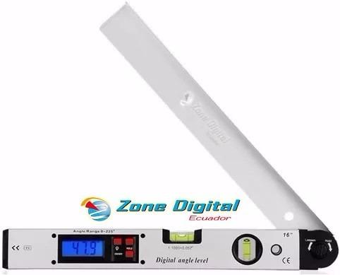 medidor de angulos digital inclinometro y nivelador