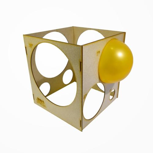 medidor de balão mdf 3mm bexigas arco de balões festas bolas