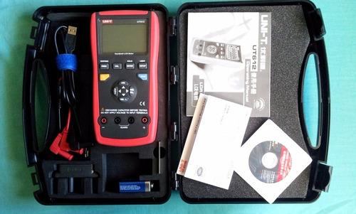medidor de capacitancia, inductancia y resistencia lcr ut612