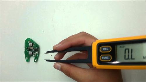 medidor de diodos capacitancias resistencias inductancias va