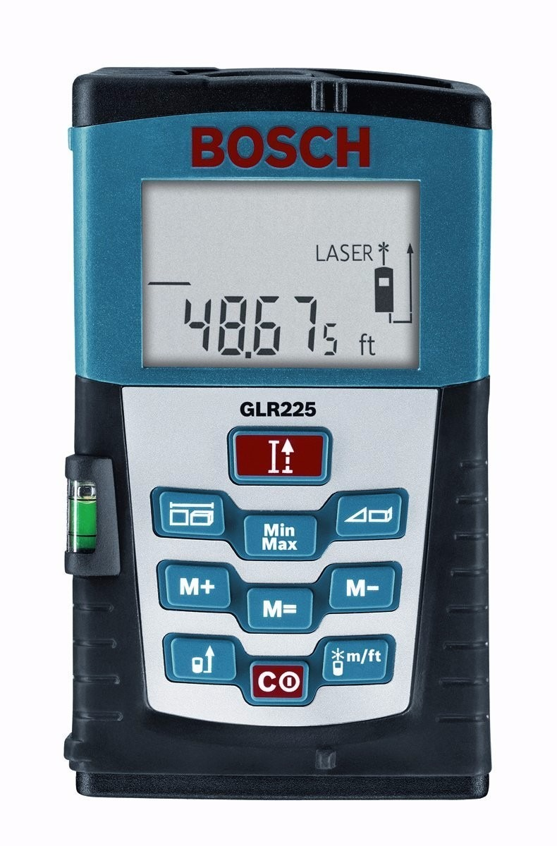 Medidor de distancia bosch glr225 laser distance measurer - Medidor laser bosch ...