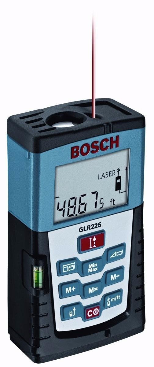 Medidor de distancia bosch glr225 laser distance measurer for Medidor de distancia laser