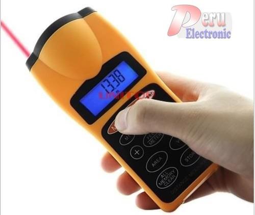 medidor de distancia digital  ultrasonido infrarojo laser
