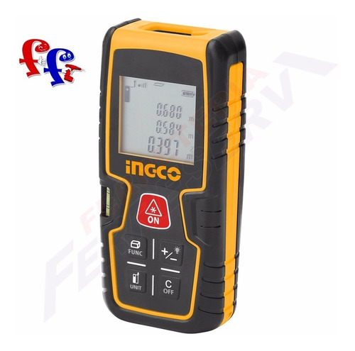 medidor de distancia laser 0.2-40m ingco hldd0401 ff