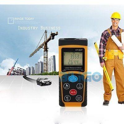 medidor de distancia láser 100 mtrs. c/ tienda
