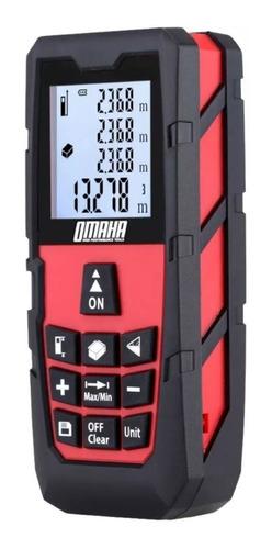 medidor de distancia laser 60 metros omaha ms-60a
