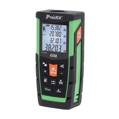 medidor de distancia laser 60m proskit nt-8560 full