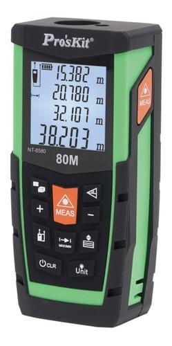 medidor de distancia laser 80m telémetro proskit nt-8580