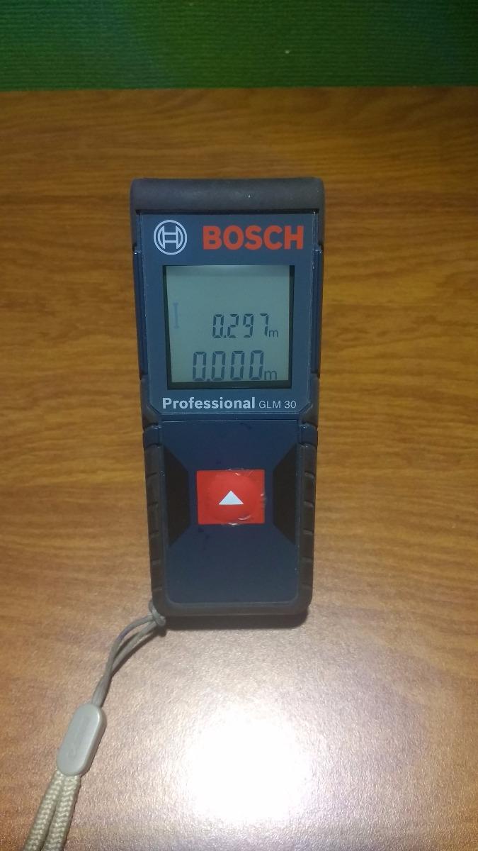 Medidor de distancia l ser tel metro bosch glm30 50 for Medidor de distancia laser