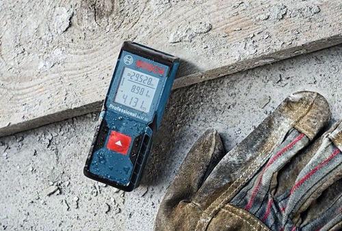 medidor de distancia telemetro laser bosch 30m glm 30 gtia