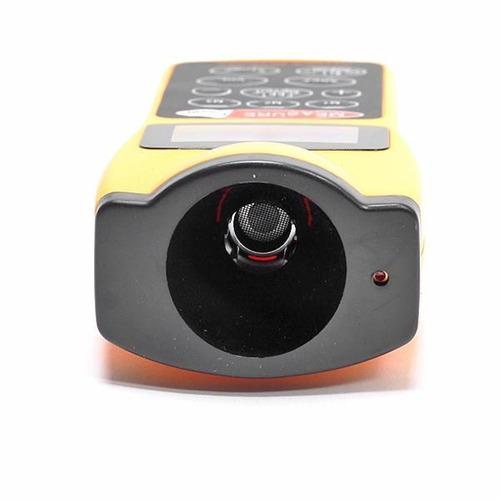 medidor de distancia ultrasinico con puntero laser lcd full