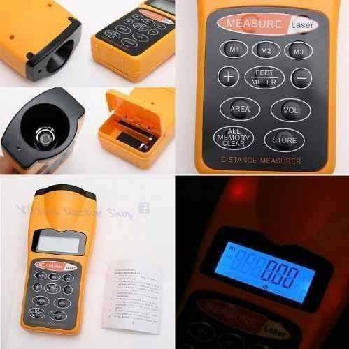 medidor de distancia ultrasonico con puntero laser