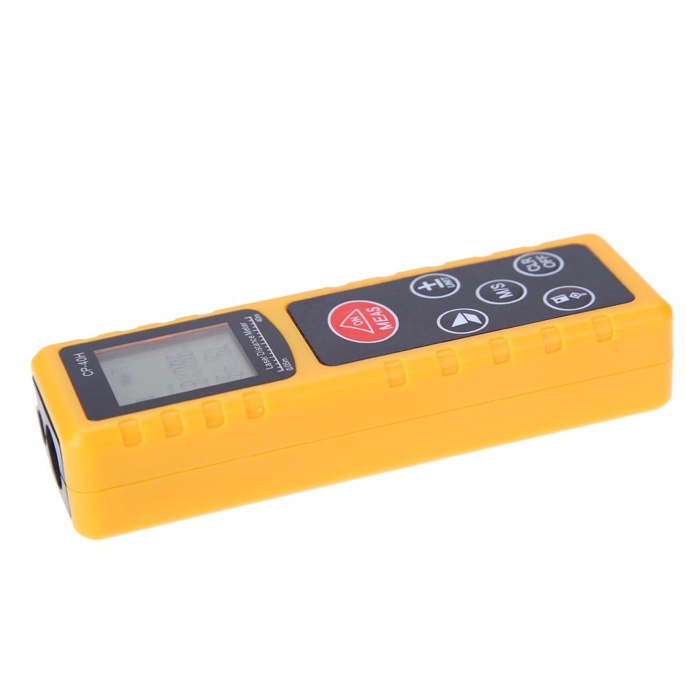 Medidor de dist ncia a laser infravermelho 40m r 110 for Medidor de distancia laser