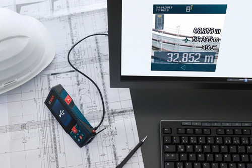 medidor de distâncias laser bosch glm 120 c maquifer