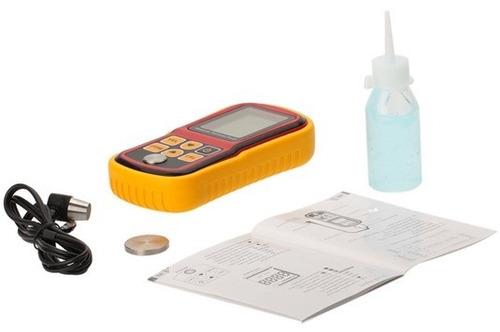 medidor de espesor para acero por ultrasonido
