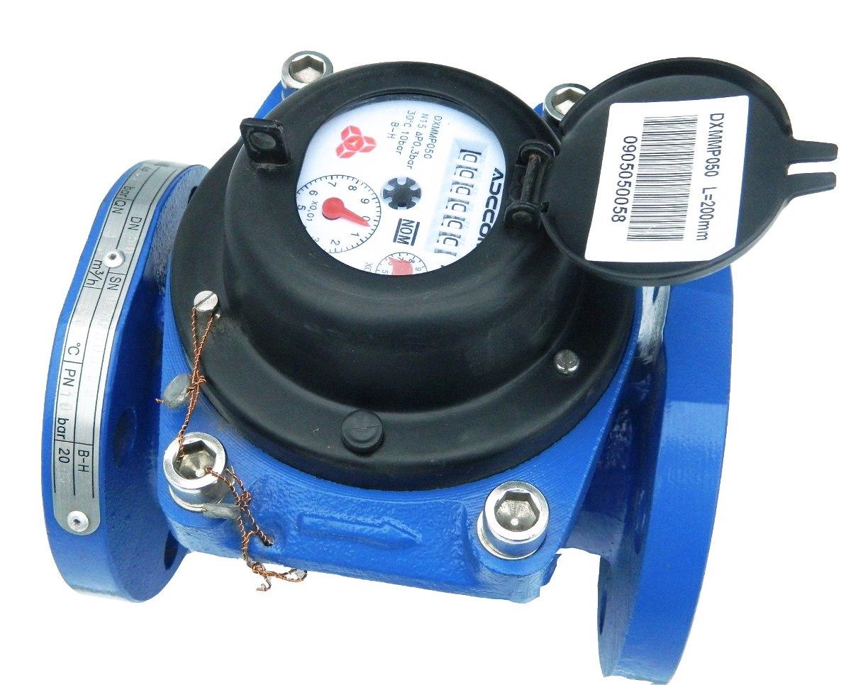 Medidor de flujo de agua adccom 2 pulgad tipo helice - Medidor de agua ...