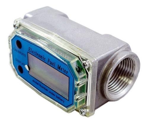 medidor de flujo de combustible diesel digital