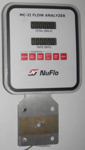 medidor de flujo, flow analyzer