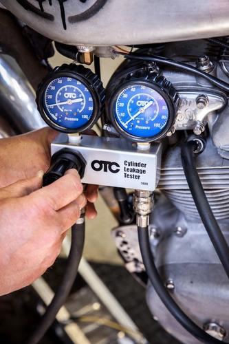 medidor de fugas en cilindros, nuevo, marca otc