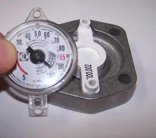 medidor de gas lp en litros para tanque estacionario
