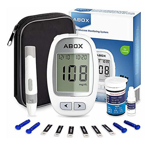 medidor de glucosa en sangre - goobang doo